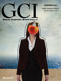 Global Cosmetic Industry December 2011 cover
