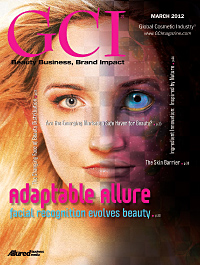 Global Cosmetic Industry March 2012 cover