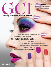 Global Cosmetic Industry April 2012 cover