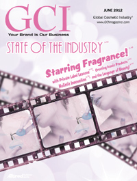 Global Cosmetic Industry June 2012 cover