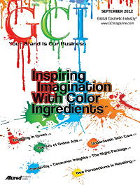 Global Cosmetic Industry September 2012 cover