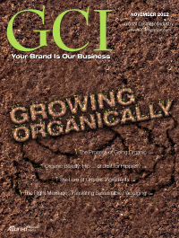 Global Cosmetic Industry November 2012 cover