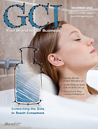 Global Cosmetic Industry December 2012 cover