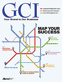 Global Cosmetic Industry January 2013 cover