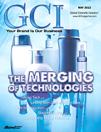 Global Cosmetic Industry May 2013 cover