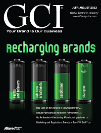 Global Cosmetic Industry July 2013 cover