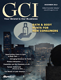 Global Cosmetic Industry December 2013 cover