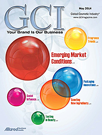 Global Cosmetic Industry May 2014 cover