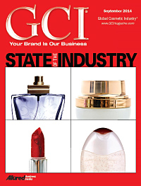 Global Cosmetic Industry September 2014 cover