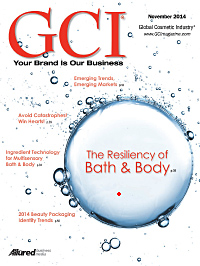 Global Cosmetic Industry November 2014 cover