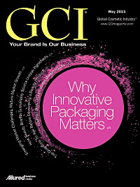 Global Cosmetic Industry May 2015 cover