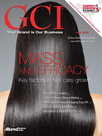 Global Cosmetic Industry June 2015 cover