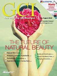 Global Cosmetic Industry July 2015 cover