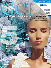 Global Cosmetic Industry September 2015 cover