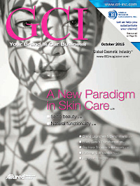 Global Cosmetic Industry October 2015 cover