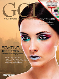 Global Cosmetic Industry January 2016 cover