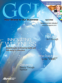 Global Cosmetic Industry April 2016 cover