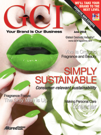 Global Cosmetic Industry June 2016 cover