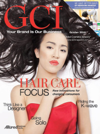 Global Cosmetic Industry October 2016 cover