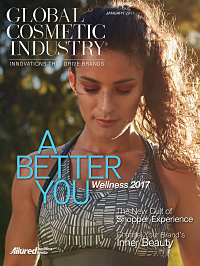 Global Cosmetic Industry January 2017 cover