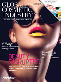 Global Cosmetic Industry March 2017 cover