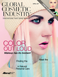 Global Cosmetic Industry April 2017 cover