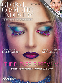 Global Cosmetic Industry July 2017 cover