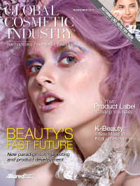 Global Cosmetic Industry November 2017 cover