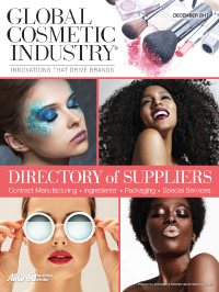 Global Cosmetic Industry December 2017 cover
