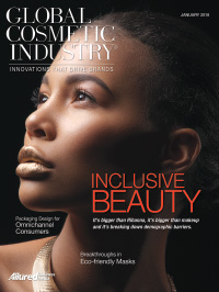 Global Cosmetic Industry January 2018 cover