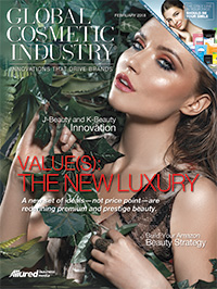 Global Cosmetic Industry February 2018 cover