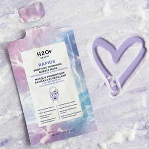 H2O+s Rapids Soothing Probiotic Bubble Mask