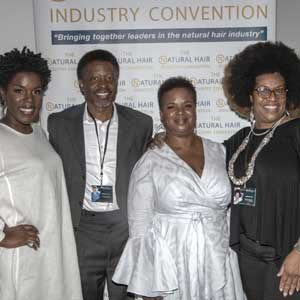 Natural Hair Industry Convention organizers and professionals