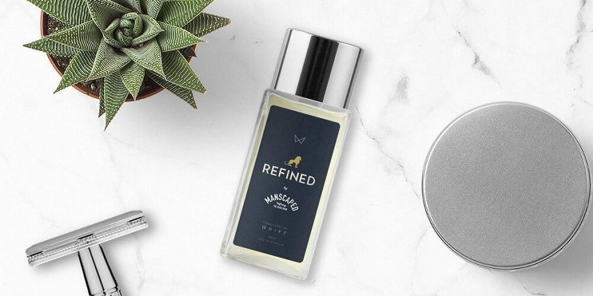A male fragrance