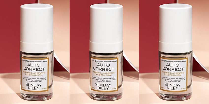 Sunday Riley's Auto Correct Brightening and Depuffing Eye Cream