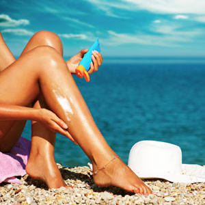 Water isn't a Threat with This Sunscreen
